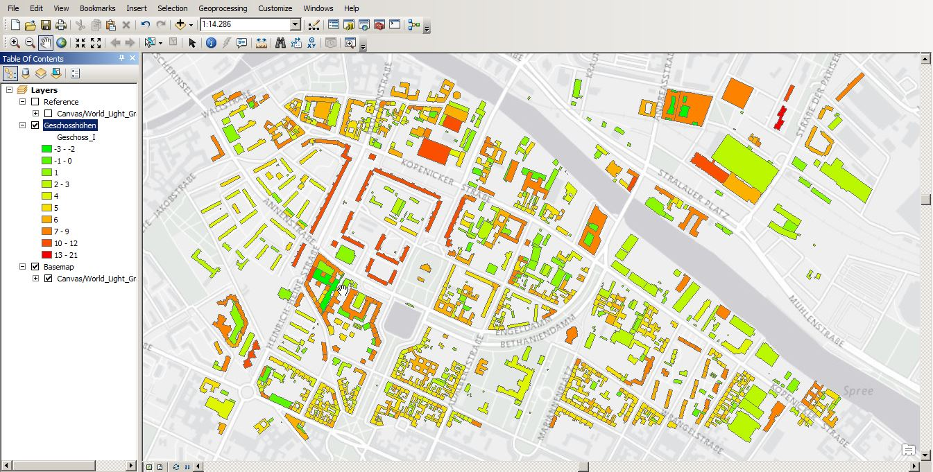Shapefile in ArcGIS